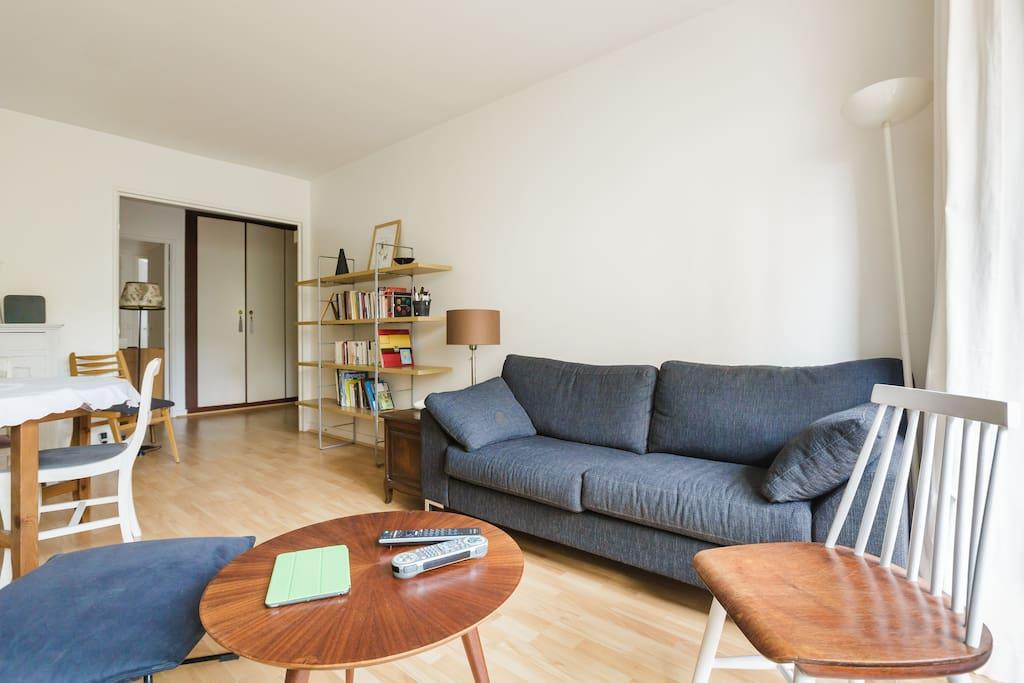 Appart cosy et spacieux bastille appartements louer for Appart meuble paris