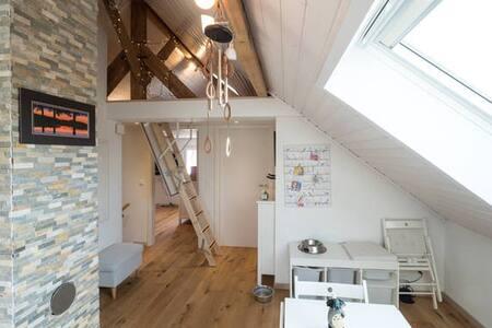 Mezzanine douillette & Double lits king size - Essert FR - Apartament