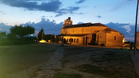Santa Maria de Riaza, mi descanso
