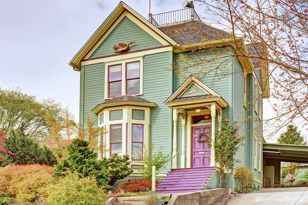 Classic Victorian Home In Beautiful Queen Anne Houses For Rent In Seattle Washington United