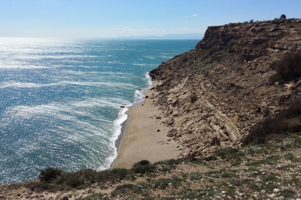 Crique de la falaise