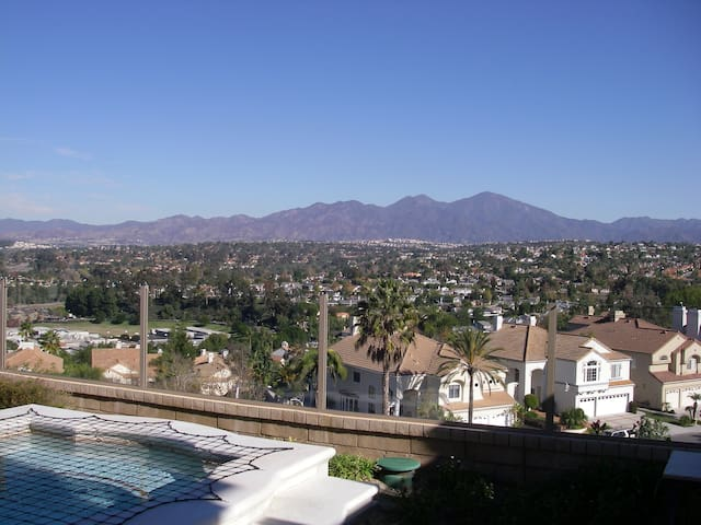 The View Home  on top of Mission Viejo
