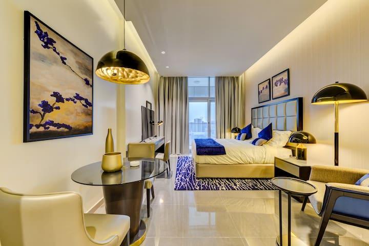 VIPCASTLES|Business Bay|Studio| Majestine | Luxury