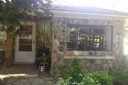 Vintage  Tiny House - mid century