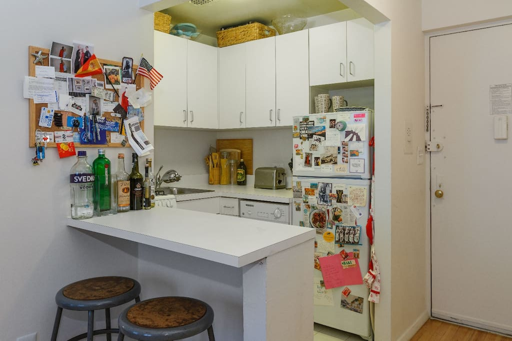 A kitchen with all you need