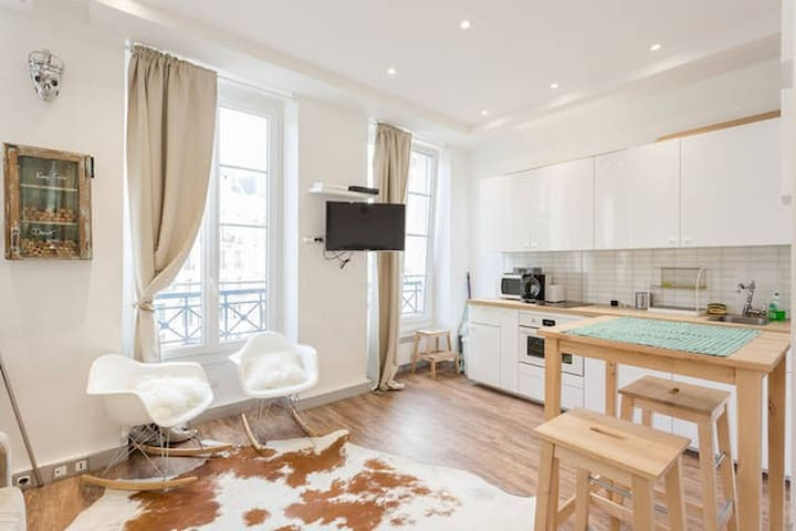 Cosy apartment in the centre of Paris - París - Apartamento