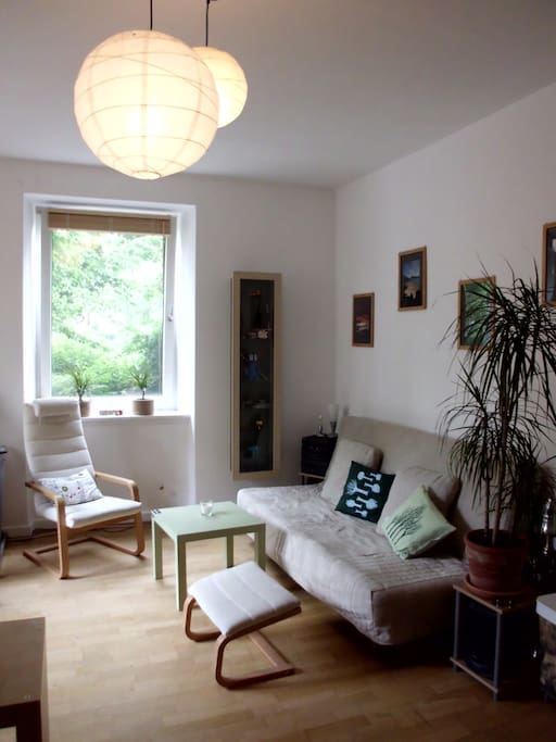 spacious and relaxing room 1 2 pers apartments for rent in kassel hesse germany. Black Bedroom Furniture Sets. Home Design Ideas