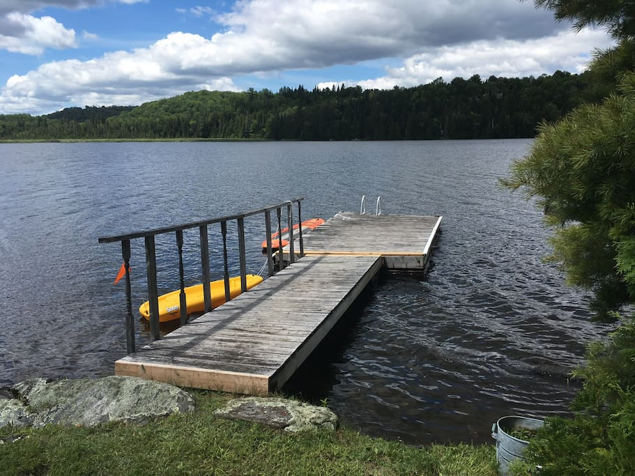Dock 2 - for boat and swimming