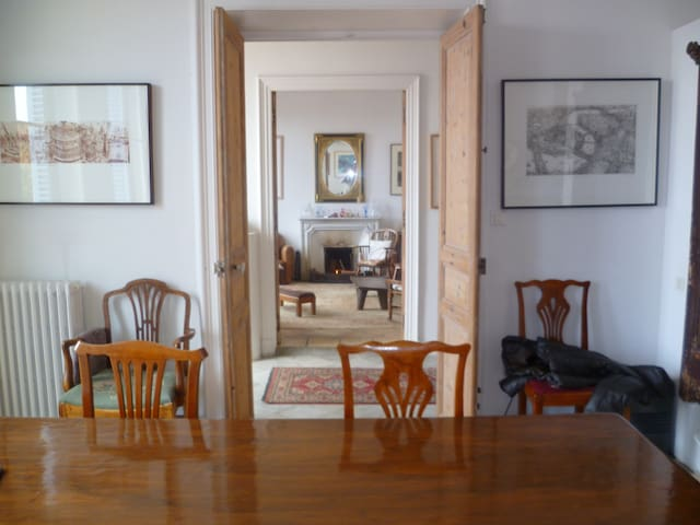 From dining to sitting room
