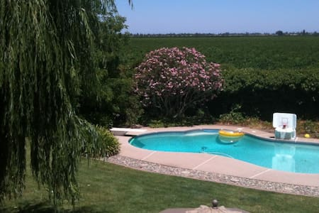 Vineyard Charm Close to Town w/private bathroom - Lodi