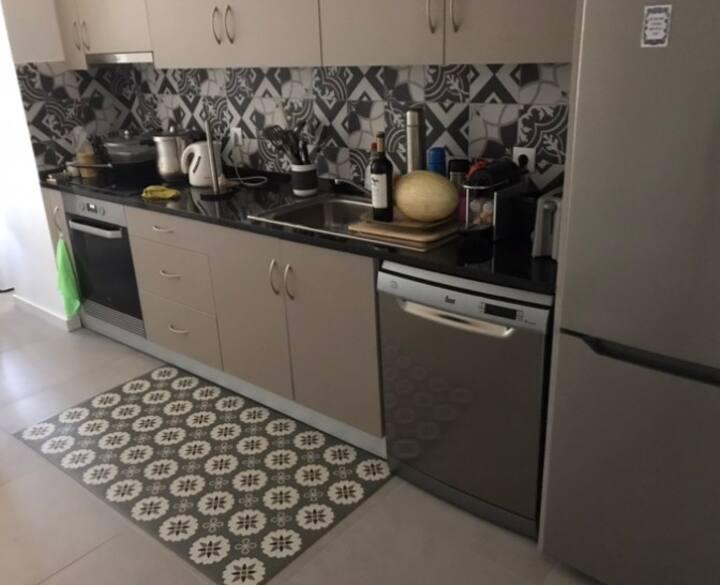 Appartement T2 + 1 entièrement rénové