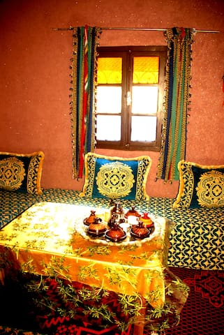 Triple Room, Gite Tamsoulte - Marrakesh-Tensift-El Haouz - Casa