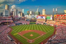 Busch Stadium, home of the St. Louis Cardinals is a short 7 minute drive from our townhouse.  Save time and money finding and paying for parking downtown by grabbing an Uber or Lyft from here.