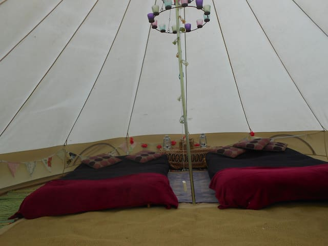 The Valley Furnished Bell Tents   - Llanteg - Tent