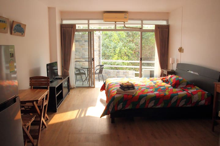 Cool Studio Inside Chiang Rai - Mueang Chiang Rai - Apartment