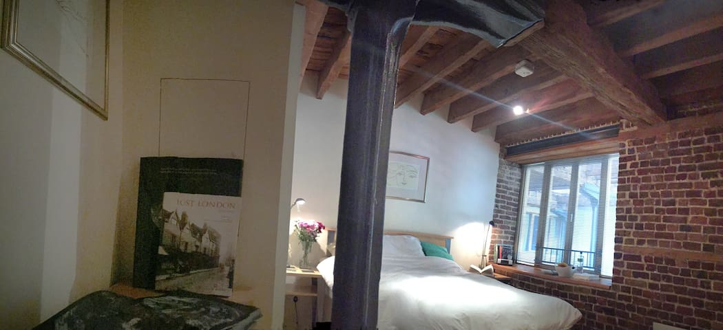 Double Room in Historic Warehouse