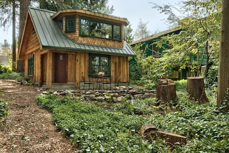 Haller Lake Restored Log Cabin - Seattle