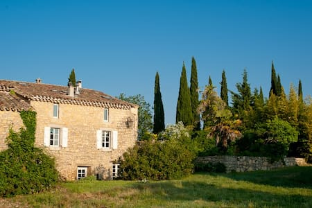 Hilltop Cevennes Stone House in tiny hamlet, pool - Languedoc-Roussillon - 独立屋