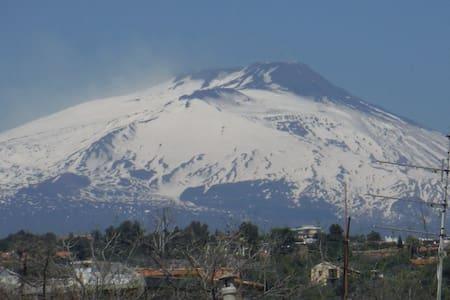 Accogliente attico vista Etna - Catane