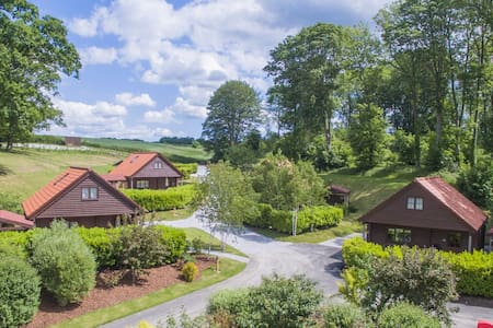 Barn Owl Lodge | sleeps 4 - Hot Tub, Dog Friendly - 4* Gold Award