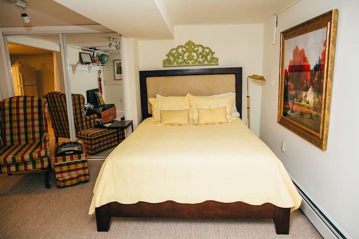 Entry Room: Queen Bed