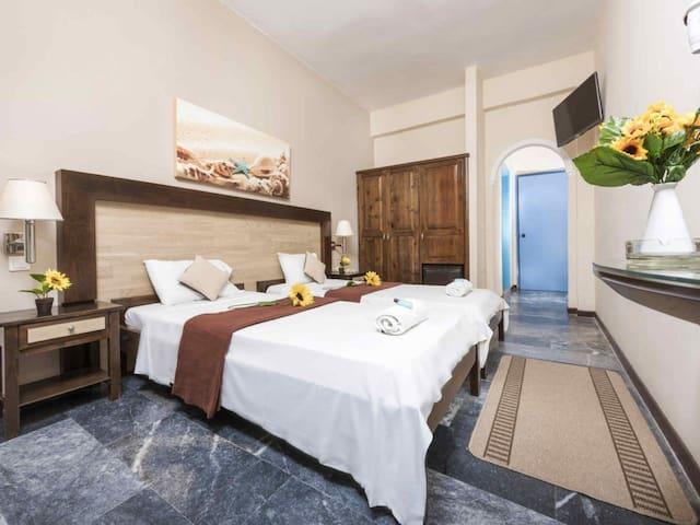Economy no balcony room,Potamaki Beach Hotel