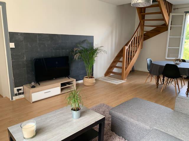 Appartement dans belle maison charentaise