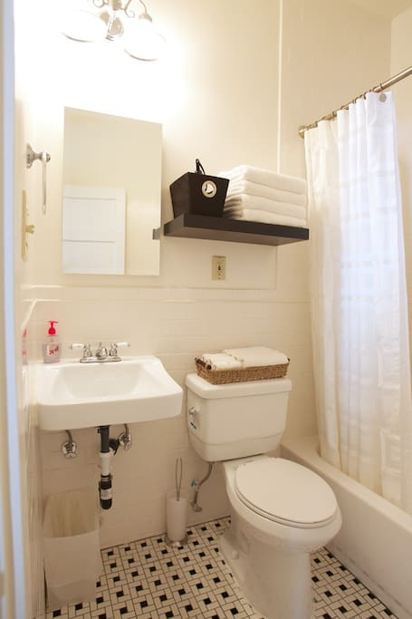 Bathroom complete with Hair dryer, Soap, Shampoo and Egyptian Cotton Towels