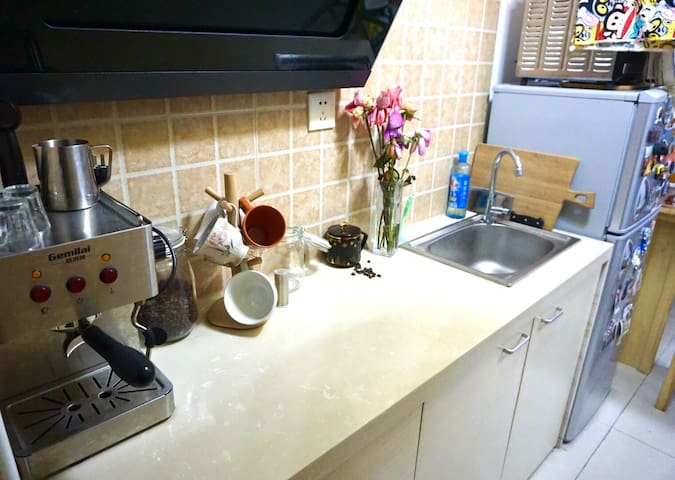 Quite place nearby metro stop - Hangzhou - Bed & Breakfast