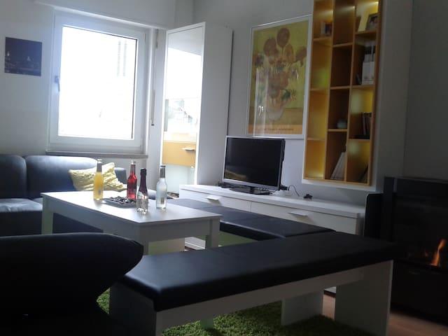 Gemütliche Wohnung - Innenstadt - Kaiserslautern - อพาร์ทเมนท์