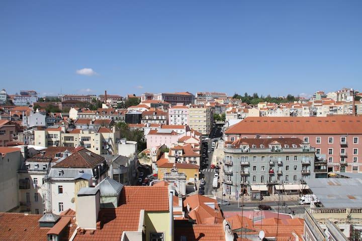 Lisbon Belvedere Intendente Balcony