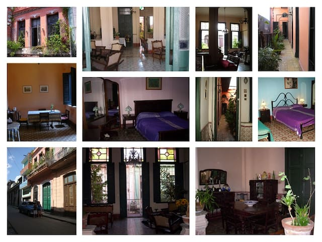 Colonial housing in Center Havana - L'Avana - Bed & Breakfast