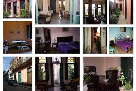 Colonial housing in Center Havana - Havana - Bed & Breakfast