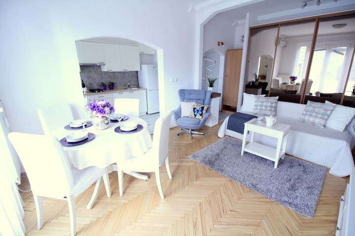 Sunny apartment with ambiance close to city center