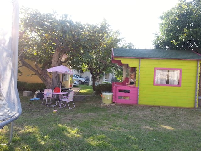Playground-playhouse&jumping