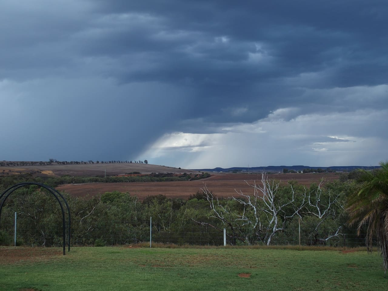 Looking east over the Chapman River