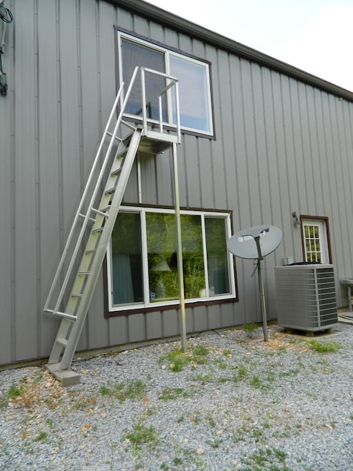 Barn Loft Fire Escape