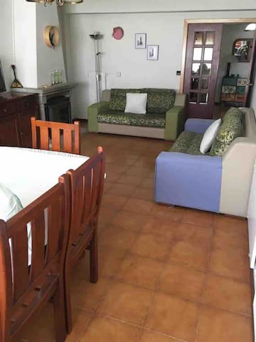 Sala de estar com recuperador
