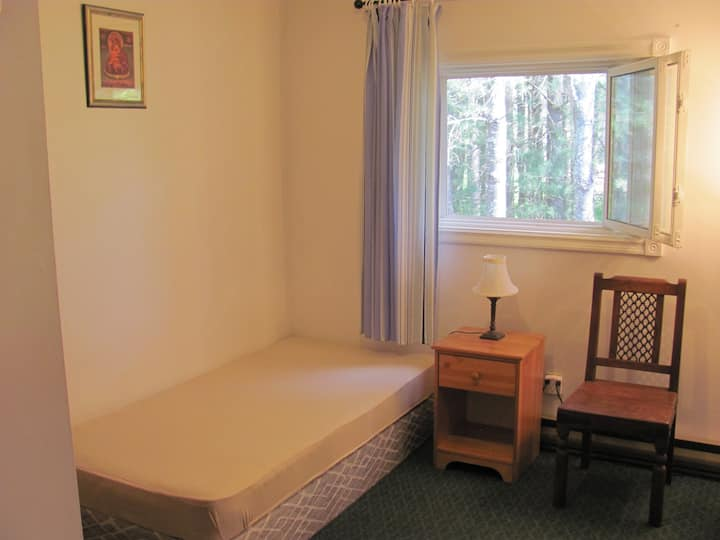 Room with 2 times meals for one person $65/day