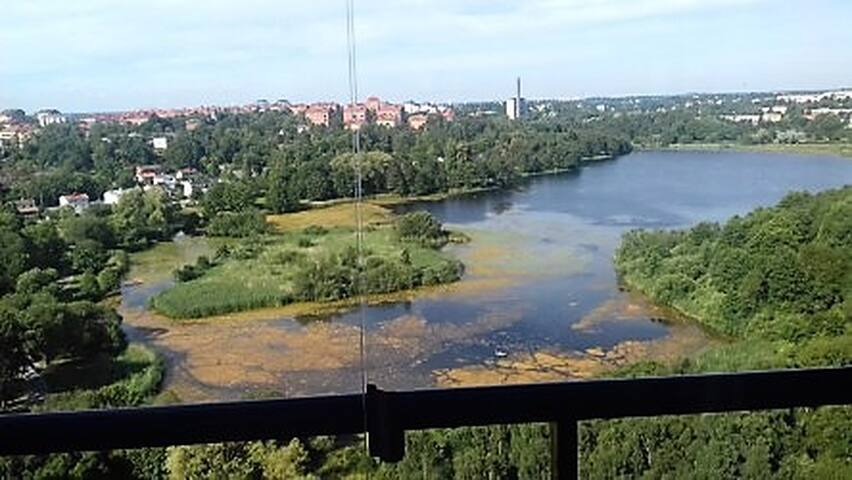 Room in Solna near MoS with water views