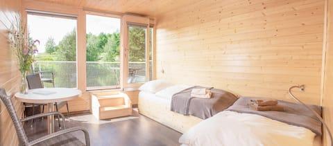 Hausboat with cabin - Ypsilon Golf Liberec