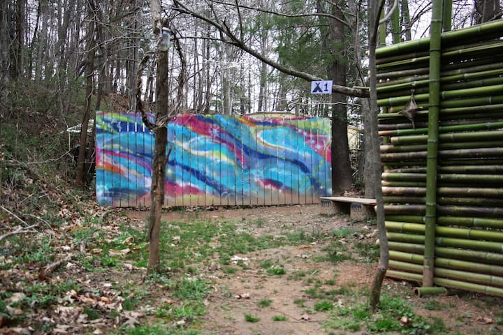 The Baying Hound Campground {Tent Site #1}