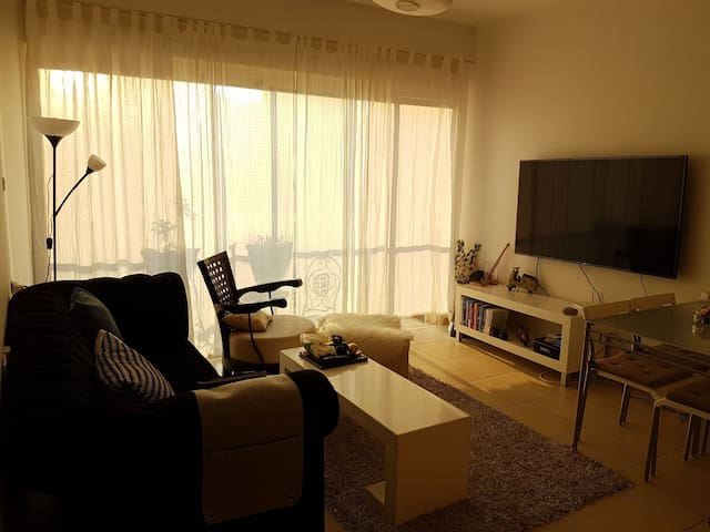 Fully furnished laxurious apt with an open view