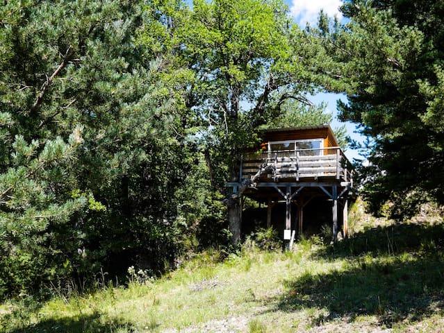 Les Cabanes de La Vigière (Chêne) - Sauze - Cabaña