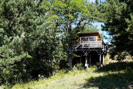 Les Cabanes de La Vigière (Chêne) - Sauze - 小屋