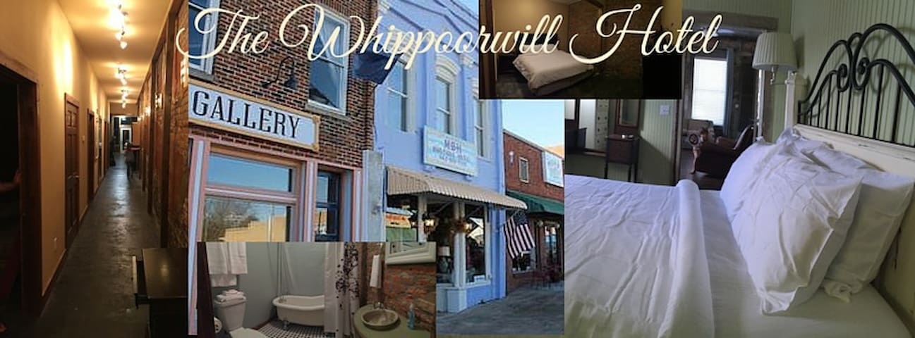Whippoorwill Hotel: Flight Queen Room - Water Valley