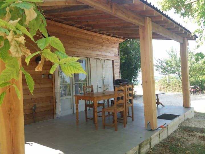 Holiday Chalet 1 in Country side  panoramic view