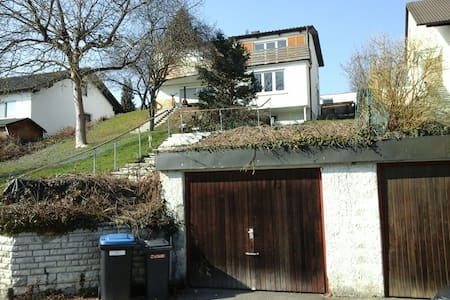 Room in a house with balkony, garden and garage - Oberelchingen