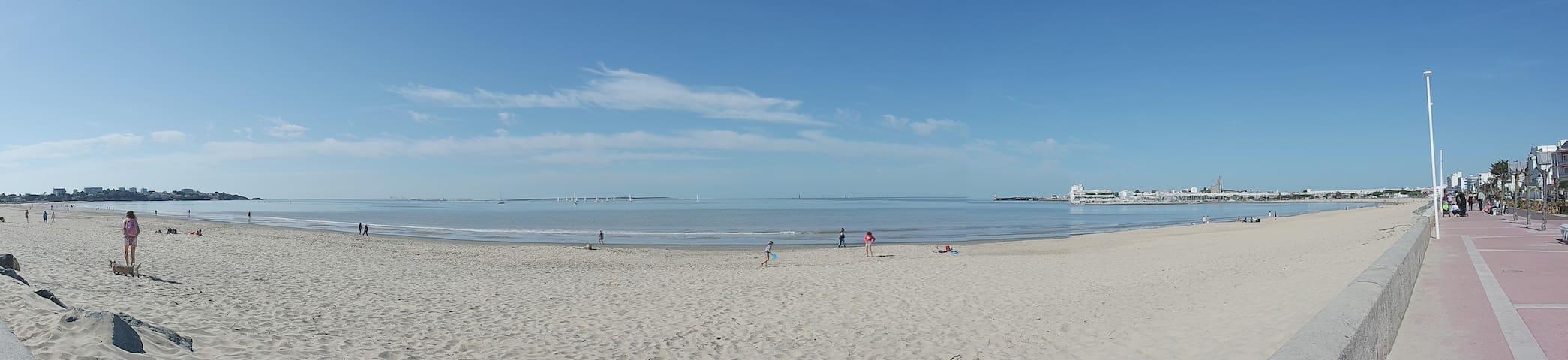 3 minutes plage Grande Conche  - T2 avec balcon - Royan - Wohnung
