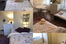 2 Rooms that fit up to 5 people in Heart of Camden